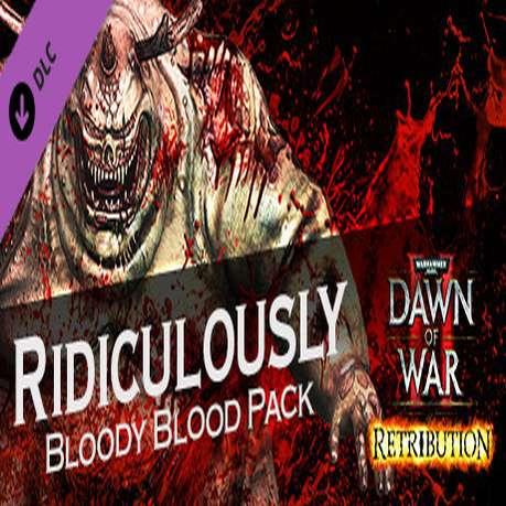[STEAM] Warhammer® 40,000™: Dawn of War® II - Retribution - Ridiculously Bloody Blood Pack (DLC)