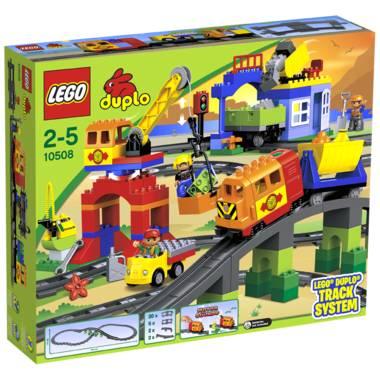 Lego Duplo Eisenbahn Super Set 10508 für 72€, versandkostenfrei bei [Intertoys]