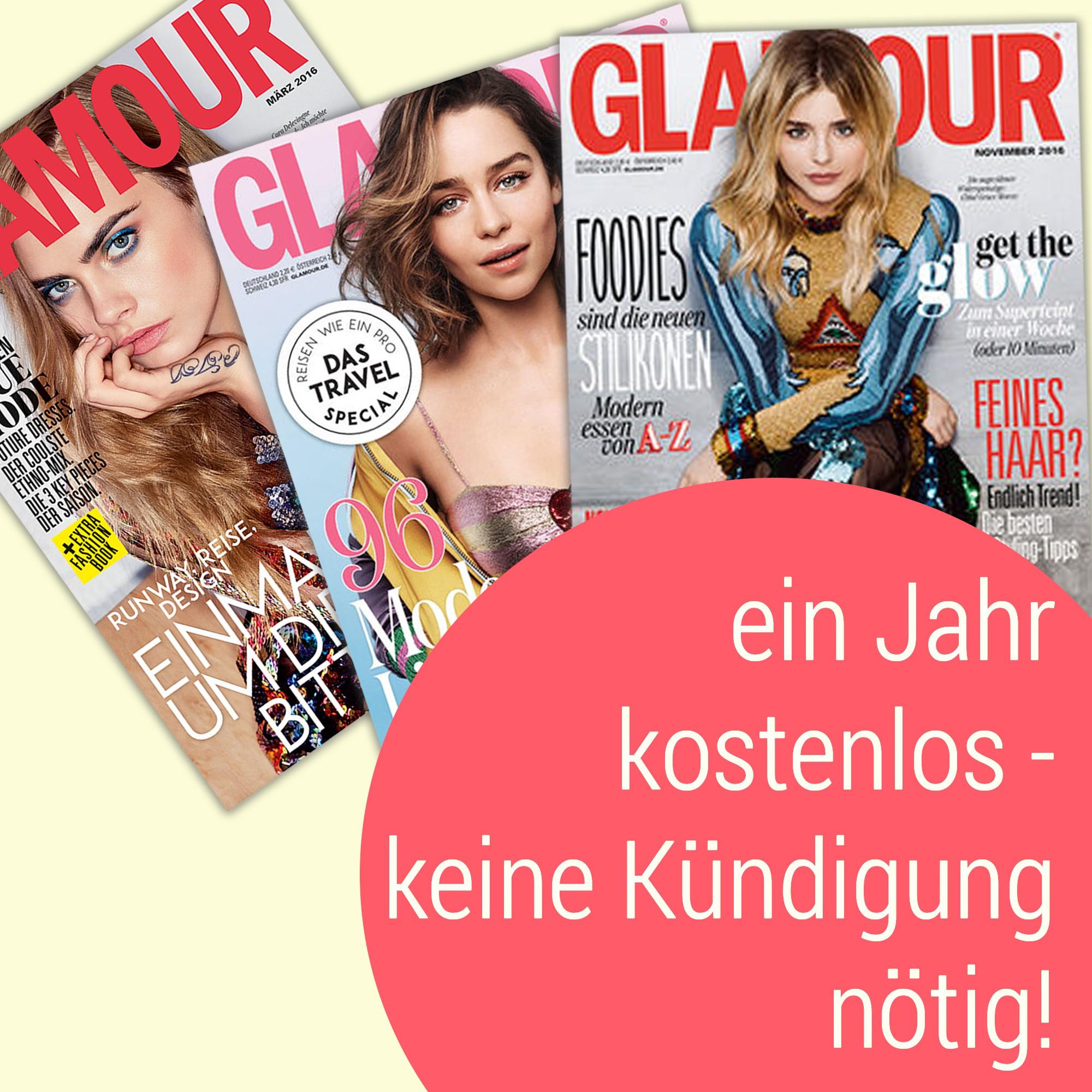 [BAGS&BRANDS] Gratis Glamour ABO (12 Monate) zu jeder Bestellung, somit für 1,71€ - keine Kündigung nötig!
