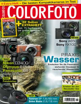 ColorFoto Jahresabo für 41,40 und dazu 50 Euro Gutschein für FotoKoch
