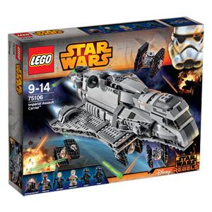 [Real online] LEGO Star Wars 75106 Imperial Assault Carrier für 85,50€