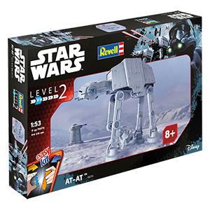 [real] Revell, Star Wars easykit AT-AT 34,95€ statt idealo 51,06€ - 40cm!
