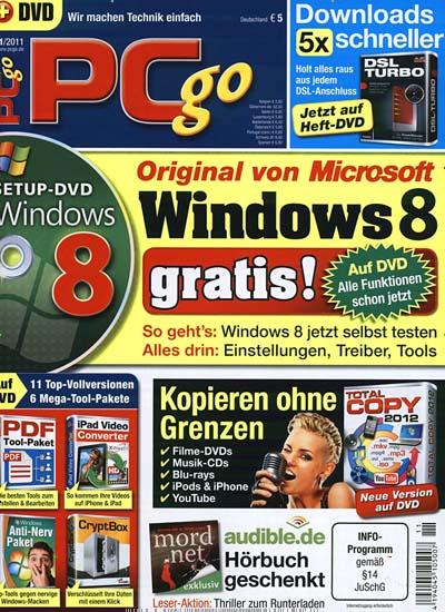 (MagClub) PCgo Premium Gold inkl. 3 DVDs - 6 Ausgaben gratis