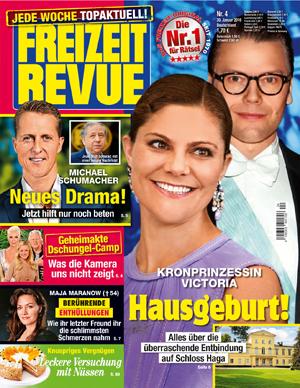 Klatsch & Tratsch Geschenk: 10 Ausgaben Freizeit Revue für 4,00€ durch 15€ Geldprämie