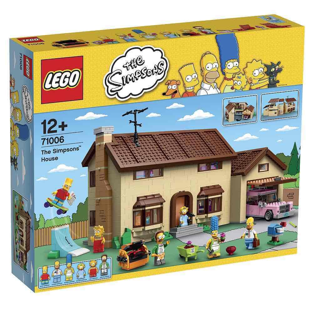 Lego Simpsons 71006 - Das Haus