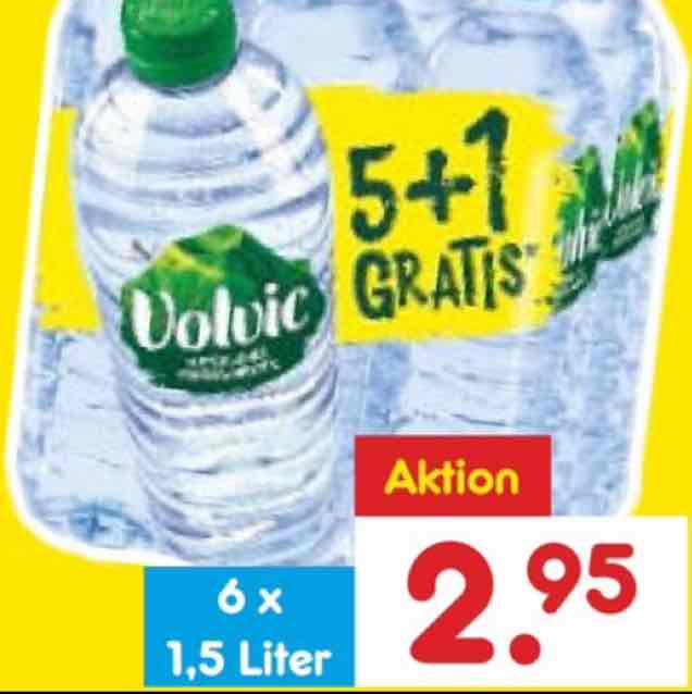 [Netto MD] Volvic Naturelle 6x1,5 Liter