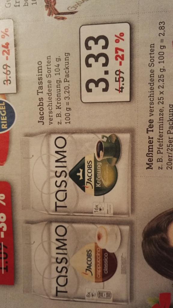 (Sachsen/Thüringen/Bayern) Tassimo T-Discs alle Sorten @ Diska