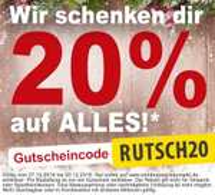 (Online) Sonderpreis Baumarkt 20 % auf alles