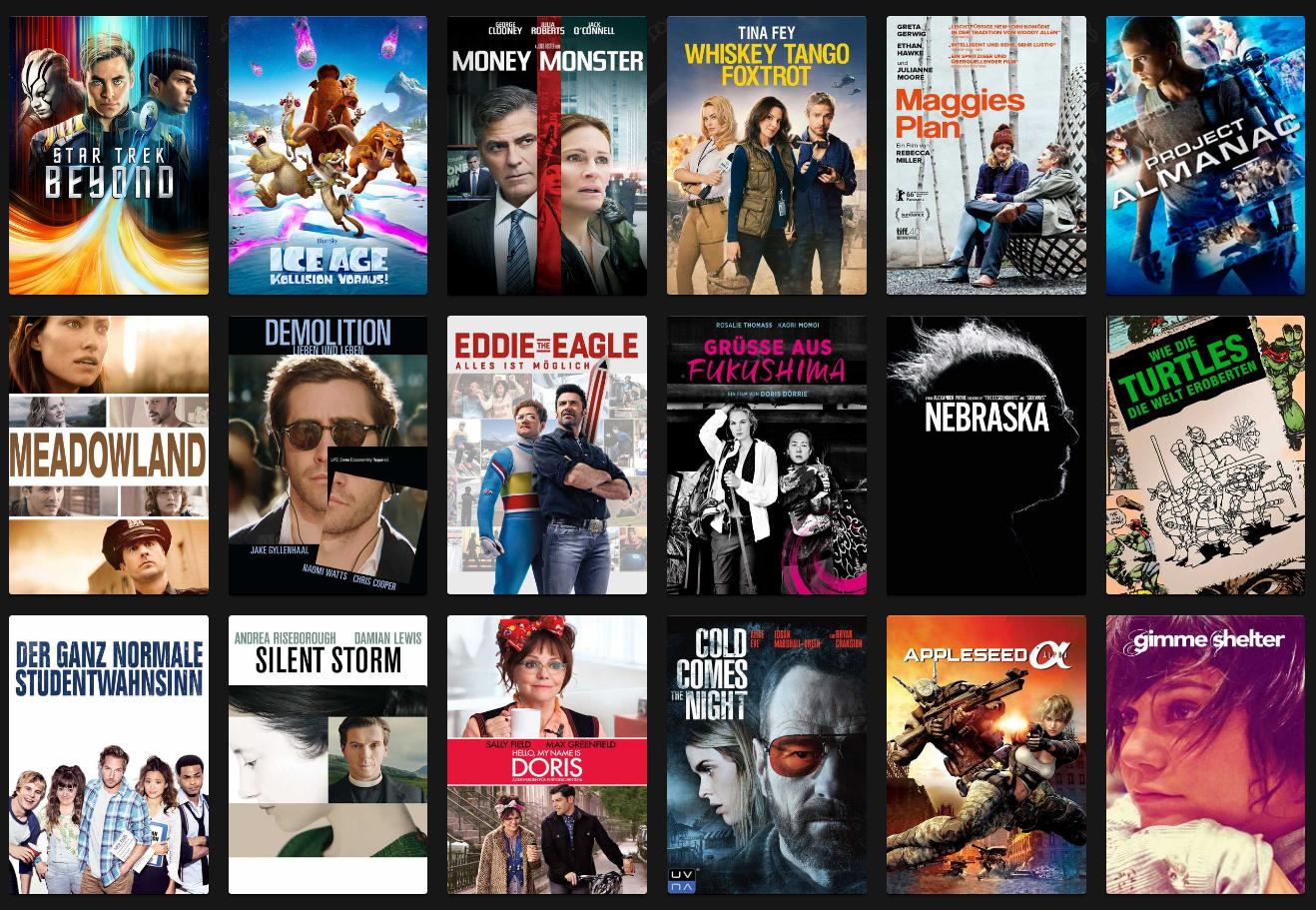Wuaki Day - 18 Filme für je 99 Cent