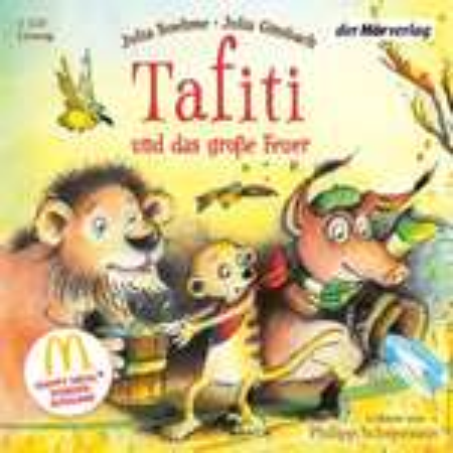 Hörbuch (ab 3 Jahre) Julia Boehme: Tafiti und das große Feuer (gelesen von Philipp Schepmann) Sonderausgabe bei soundcloud