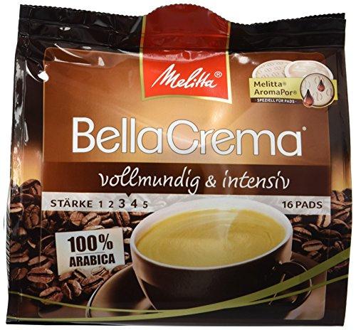 [Amazon Sparabo + Coupon] Melitta Gemahlener Röstkaffee in Kaffeepads, 10 x 16 Pads, 100 % Arabica, vollmundig und intensiv, mittlerer Röstgrad, Stärke 3 bis 4, BellaCrema ab 10,42€