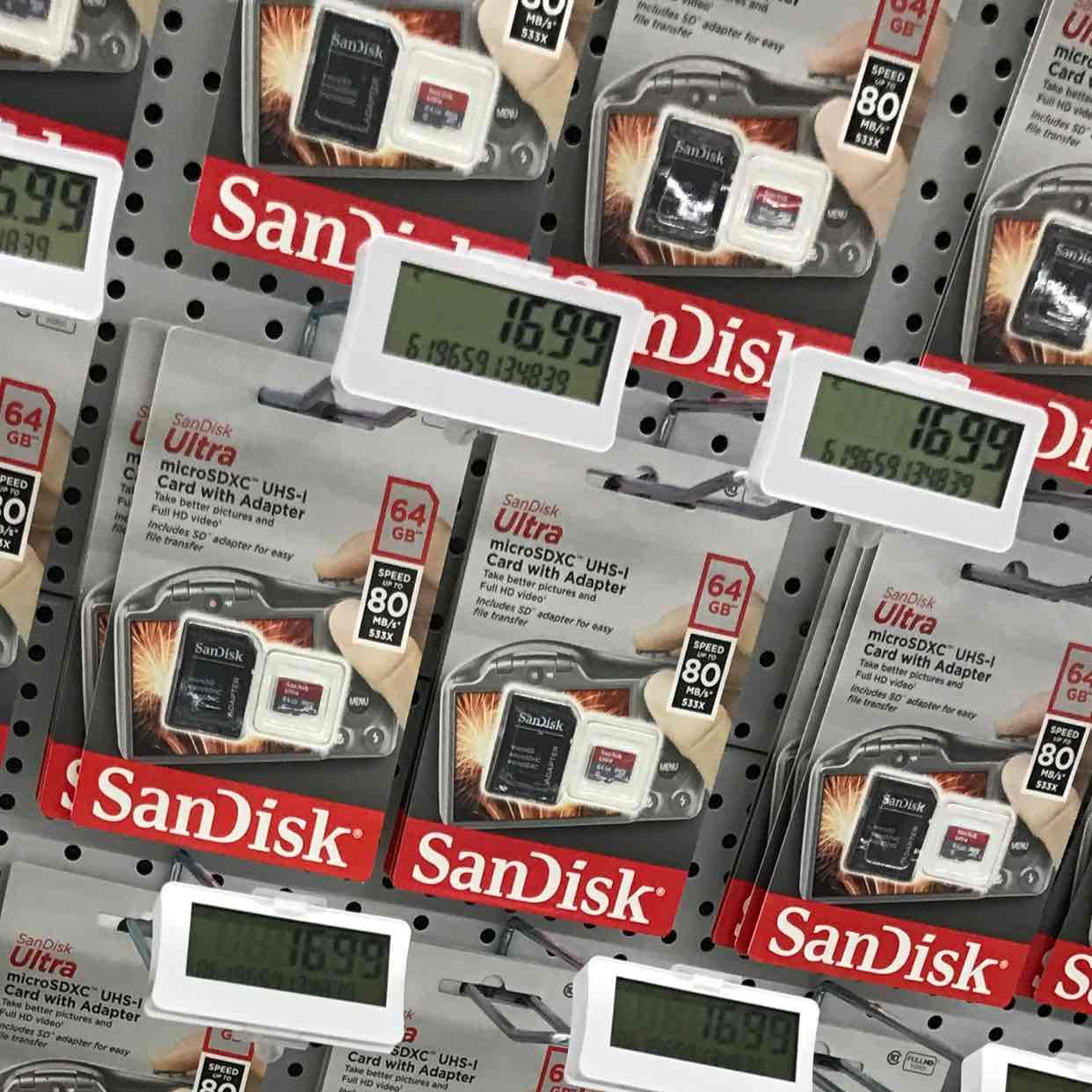 [Lokal] Sandisk Ultra microSDXC 64GB class 10 - Saturn Bielefeld