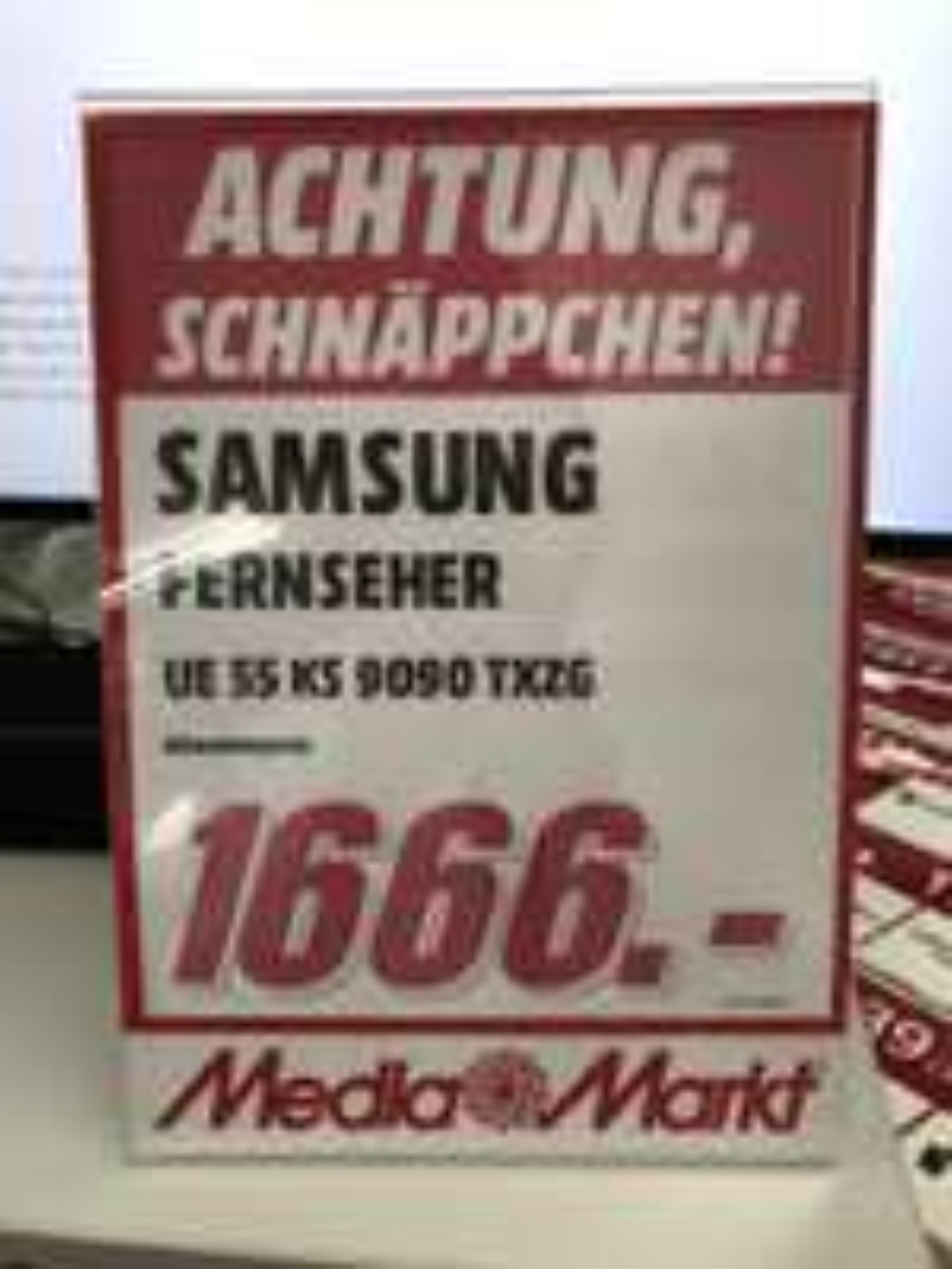 Samsung UE55KS9090 + Galaxy S7 (MM Wiesbaden 2)