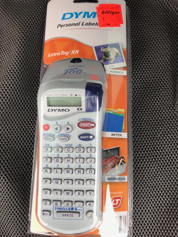 (lokal) Aldi Auerbach/Opf. Dymo LetraTag XR Handy Beschriftungssystem