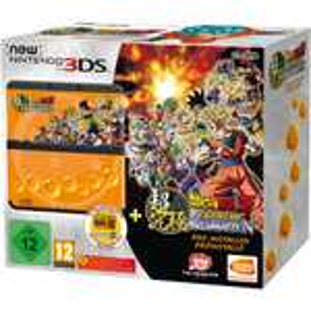 New Nintendo 3DS - schwarz inkl. Dragon Ball Z: Extreme Butoden (ebay)