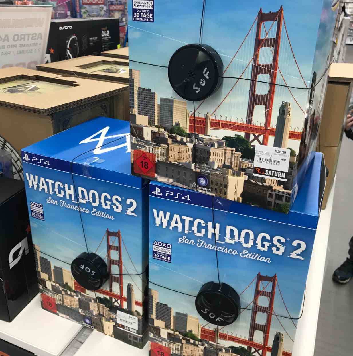 Watch Dogs 2 - San Francisco Edition PS4 (Saturn Spandau)