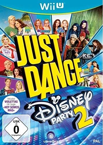 Konsolenkost Wii U - Just Dance Disney Party 2 für 10,98 Euro