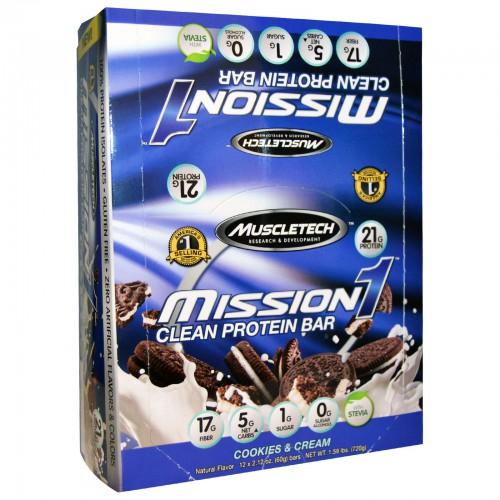 Protein Riegel Sale bei Body and Fit - Mission 1 Clean Bar 12er Box für 9.99 € - Quest Bars 12er Box für 19 € uvm..