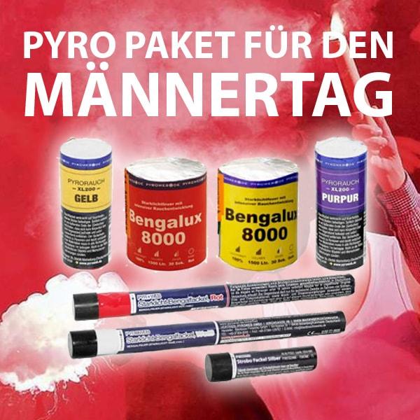 Pyrotechnik Paket zum Männertag / Vatertag für 25,25€ statt 50,50€ (-50%)