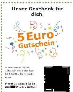 IKEA Family 5 Euro Gutschein pro Kind