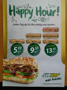 [Lokal Münster] Subway Happy Hour ab 20 Uhr