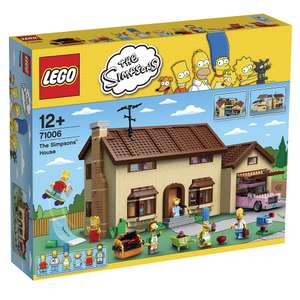 LEGO Simpsons - Das Simpsons Haus (71006) für 159,98€ bei Toys'r'us.de