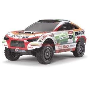 [Tamico] Tamiya 1:10 Mitsubishi Racing Lancer (Repsol Ralliart) Bausatz