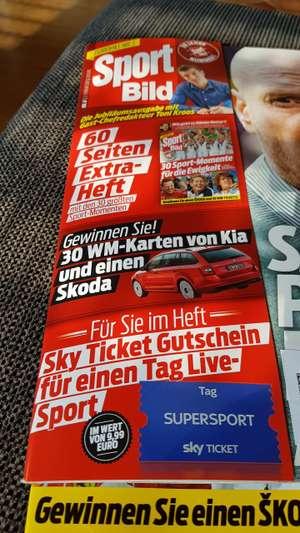 In der Sport Bild Sky Ticket Super Sport Tag für Neukunden