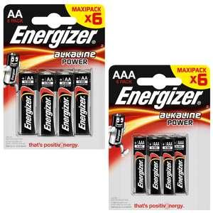 ENERGIZER AAA oder AA Batterien, Alkaline Power, den 6er Pack für 1,49 Euro [Kaufland]