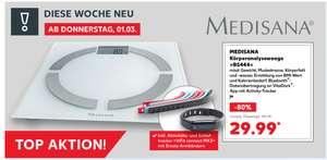 Kaufland: Medisana BS444 - Körperanalysewage & Aktivitäts- und Schlaftracker ViFit connect MX3