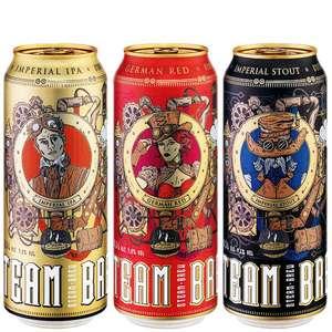 Craftbiere Steam Brew: Imperial IPA, Imperial Stout, German Red Beer für nur noch 55 Cent bei (Lidl)