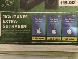 iTunes Guthabenkarte(n) 25€/50€/100€ evtl. Lokal