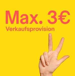 eBay Verkaufstag - Max. 3€ Verkaufsprovision am 24.06.