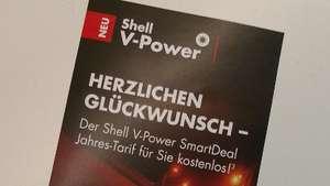 Shell V-Power SmartDeal Jahres-Tarif kostenlos
