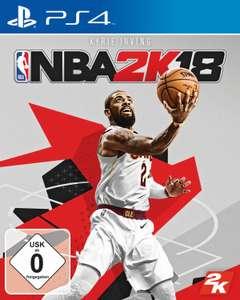 NBA 2K18 (PS4) & WWE 2K18 (PS4) für je 12,99€ versandkostenfrei (Saturn)