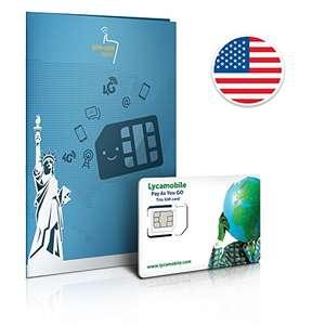 USA Reisesim - 30 Tage mit 4 GB und Telefonflat nach Deutschland