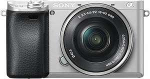 Sony Alpha 6300 Kit SystemKamera silber mit 16-50 mm Objektiv (Amazon.es)
