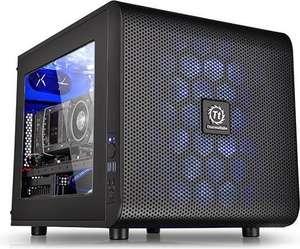 [nbb] Thermaltake Core V21 Micro-ATX Gehäuse - schwarz - ohne Netzteil (CA-1D5-00S1WN-00)