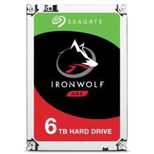 "Seagate IronWolf 6 TB Festplatte (SATA 6 GB/s, 3,5"")"