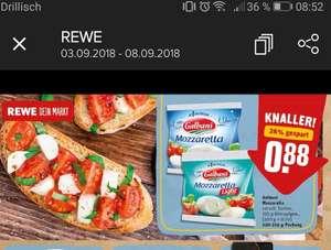 [Rewe] 2 x Galbanai Mozzarella durch Gutschein von Couponplatz