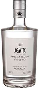 Agavita Platinum Tequila Premium 100% Blaue Agaven Tequila