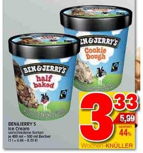 [Lokal Baunatal/Kassel] Ratio (Marktkauf) - Ben & Jerry's Eiscreme
