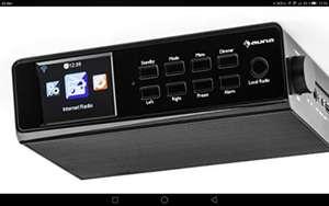 Auna KR 190 Internet- Unterbauradio z.b. für die Küche