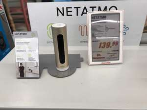 [Local: Media Markt Weiden] Netatmo Welcome WLAN IP Smart-Home-Kamera mit Gesichtserkennung