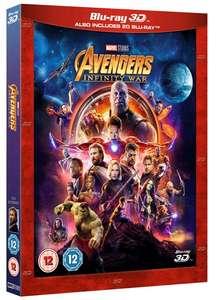 Marvel: Avengers Infinity War 3D + (2D Disc) [Blu-ray] Deutscher Ton