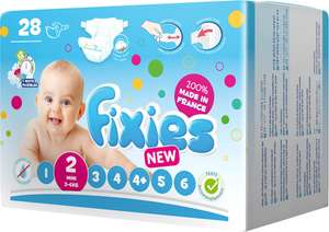 Fixies Windeln 3-6 KG Gr.2