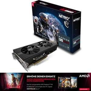 Sapphire Radeon RX 570 Nitro+ 4GB + 3 Spiele für 125,10€ (eBay)