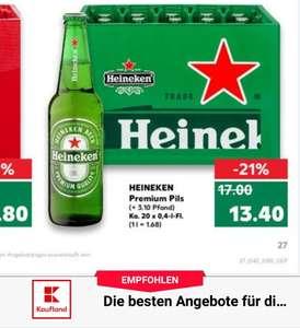1 Kiste Heineken + 1Monat DAZN