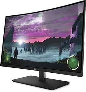 [Amazon] HP 27x 1AT01AA 68,58 cm (27 Zoll Full HD) Monitor (HDMI, Displayport, AMD-Freesync, 144Hz) schwarz