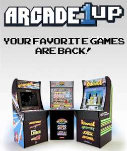 Arcade 1Up Automaten kommen endlich nach DE (Street Fighter 2, Rampage, Asteroids, Space Invaders, etc.) Mit 10% Rabatt vorbestellbar